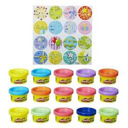 NEW Party Bag Includes 15 Colorful Cans of Play Doh 1 Ounce Cans by Play Doh