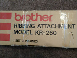 Knitting Machines Kh-260 And Ribber Kr-260