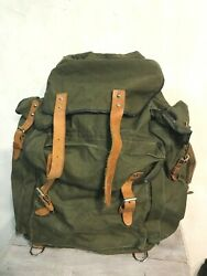Rus Army Backpack Abalakov 65l Spn Spetsnaz Canvas Afghan War By Dinamo 1970-s