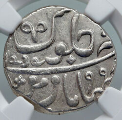 1829 Fe 1239 India British Old Bombay Presidency Silver Rupee Coin Ngc I90691