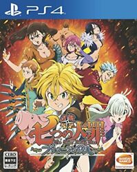 Japan [ps4 Video Game] The Seven Deadly Sins Knights Of Britannia