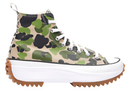 New Converse Run Star Hi Top Hike Platform Womens Sneakers Shoes Wild Green 5-11