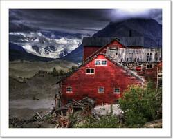 Kennecott Mine With Art Print / Canvas Print. Poster Wall Art Home Decor - O