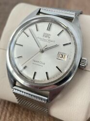 Yacht Club Automatic Vintage Menand039s Watch 1970 Serviced + Warranty