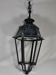 Very Large Antique French Lantern - Five Available 32