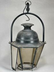 Large Antique French Lantern With Loop Handle 37¾