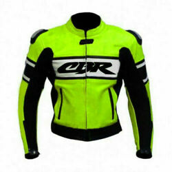 Honda Cbr Racing Motorbike Leather Jacket Ce Approved All Sizes