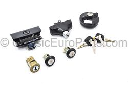 Full Key Lock Repair Kit For Bmw E28 10 Pcs Door Trunk Ignition Up To Sept 1985