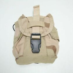Black Buckle 1-qt Desert Camo Canteen Pouch Specialty Defense Systems Sds