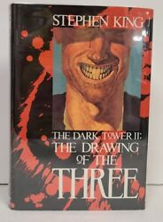 Stephen King Dark Tower Ii Drawing Of The Three 1st Ed Signed By Phil Hale