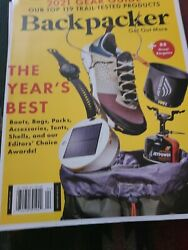 Backpacker Magazine March April 2021 $5.00