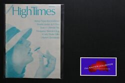 💎1 High Times Magazine 1st Premiere Issue Ultra Rare Silver Summer 1974💎
