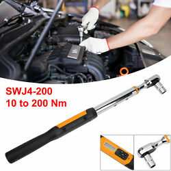 1/2in Torsion Wrench,digital Display Spanner Key Hand Tools 10 To 200 Nm