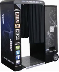 Commercial Photo Booth Arcade Apple Industries. Party Rental - Side Hustle
