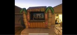 Huge Inflatable Tiki Bar - Great For Party Rentals Farmers Markets Or Events.