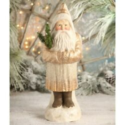Bethany Lowe Large Gold Belsnickle Santa Tj7755 Freeshipping