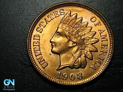 1908 Indian Head Cent Penny -- Make Us An Offer K2007
