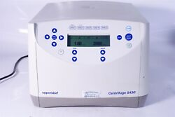 Tested Eppendorf Bench-top Centrifuge 5430 + Rotor A-2-mtp