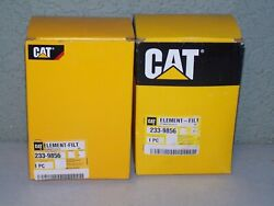 Lot Of 2 Genuine Cat Water Sep And Fuel Filter Caterpillar 233-9856 2339856