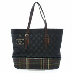 Shoulder Bag Womenand039s Matelasse Black Dark Brown Multi Plaid No.9837