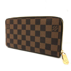 Louis Vuitton N60015 Large Zip Around Wallet Zippy Damier Long There Is No.1365