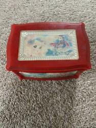 Candy Candy Accessory Case With Jewelry Box Music Box Used Rare Vintage Japan