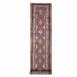 3and0396x17and0394 Old Farsian Serrib Xl And Wide Runner Full Pile Hand Knotted Rug R66593