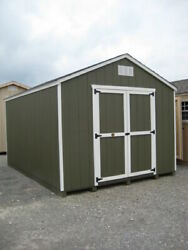 Little Cottage Company Value Gable Shed In 17 Sizes Opt. Floor Kit