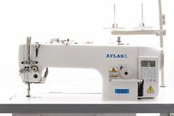Atlas Usa At 9010 Automatic Neddle Feed Industrial Sewing Machine Made By Atlas