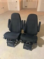 Pair Of M2/114sd National Seating Seats-75e-m2l2 W/o Heater Nts-40114-53af35