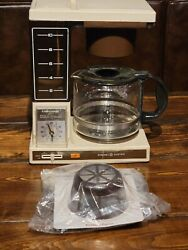 Vintage Ge General Electric Brew Starter Automatic Drip Coffee Matic