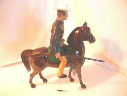 1950and039s.hartland Jim Bowie And Blaze Western Rider 800 Series Complete Set + Tag 4