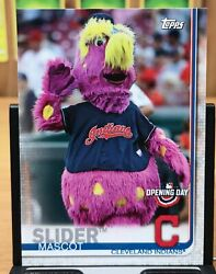 2019 Topps Opening Day Slider - Indians Mascot M-2