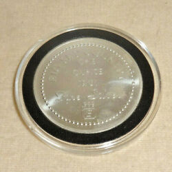 Vintage Engelhard Big Sky Country Montana 1oz .999 Silver Round Coin Low Mintage