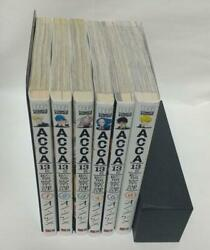 Acca 13-territory Inspection Dept. Comic Whole Volume Set Japanese