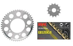 Rk 530 Xs O-ring Gold Chain Jt Sprockets For Honda Cb1000r 2008-10 16t/43t