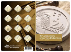 2018 30th Anniversary 2 Coin - 12 Coin Set Unc Low Mintage - Sold Out At Mint