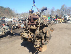 White Hercules D4800t Turbo Diesel Engine Runs Good Low Hours Rare Tractor