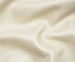 55 Sf. Off White Cream Pearlized Metallic Sheen Cow Hide Leather Skin Lij