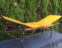 Antique Funeral Esco Embalming Folding Table Mortician Embalm Cooling Board Nice