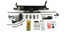 Unisteer Perf Products 8012400-01 Power Rack And Pinion Kit 78-88 Gm G-body W/sbc