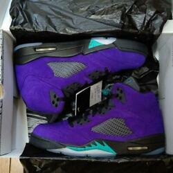 Sale Men 10us Nike Air Jordan R Purple Grape From Japan Fedex No.2792