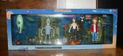 Rare Futurama Collect-o-pak Moore Collectible Toy Figures Tower Exclusive 2001andnbsp