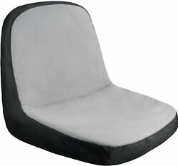 Riding Lawn Mower | Seat Cover ✪new✪ Medium Black Grey Storage Tractor 600d Usa