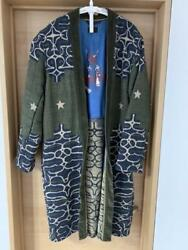 Authentic Sold Out Kapital Ainu Betsy Ross Sha-ka-jkt Free Shipping No.2887