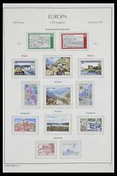 Lot 33524 Stamp Collection Europa Cept 1977-2011.