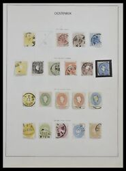 Lot 33594 Stamp Collection Austria And Territories 1850-1918.