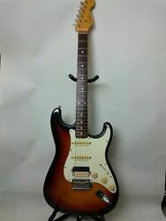 Fender Japan Electric Guitar Stratotype Sunburst System Sss Synchro Type