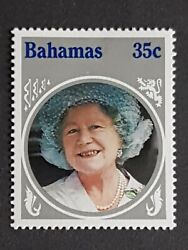 Bahamas Mh 35c Stamp 1985 Life And Times Of Queen Elizabeth The Queen Mother