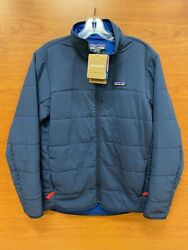 Menand039s Pack In Insulated Jacket New Navy 20945 179 Retail